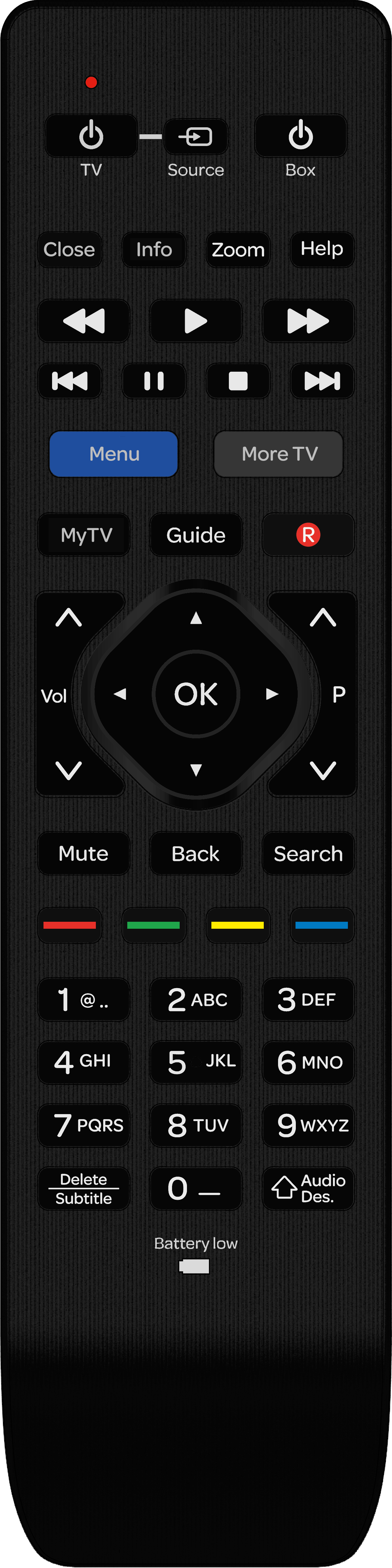 Support Reset Your Remote Control
