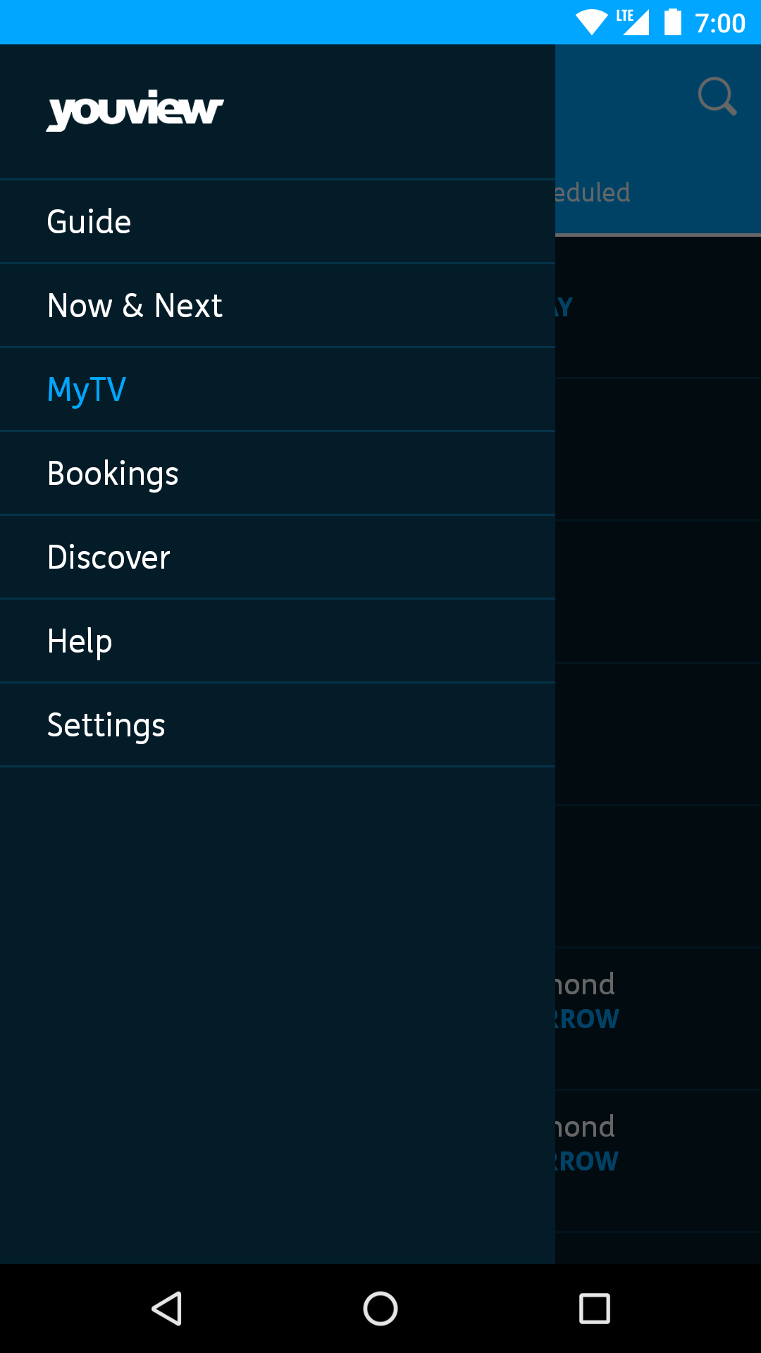 iPad image showing reminders