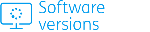 software versions image